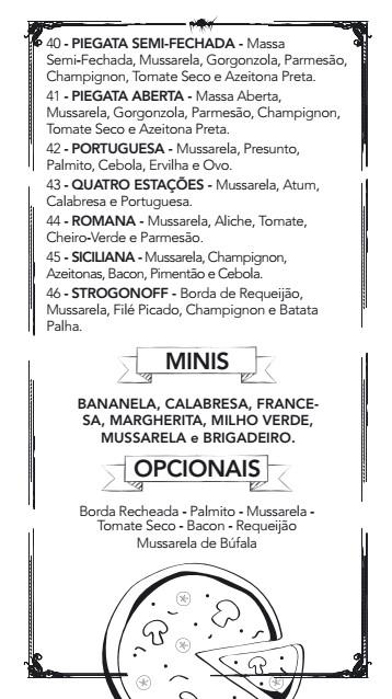 Chaplin - Restaurante e Pizzaria em Marília